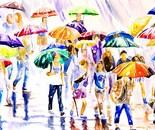 Raining in the 'Rush Hour