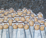 The Soldiers, Mixed Medium, 152x102cm