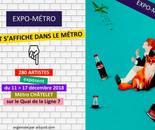 Exposition au Métro Chatelet 2018