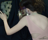 Claudia in the Mirror