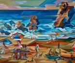 Пляж. Средиземное море