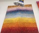 Energy 1 oil/lime paint on canvas 50 x 42