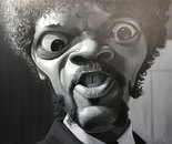 Samuel L. Jackson 100 x 80 cm