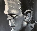 Frankensteins Monster 80 x 100 cm
