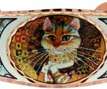 Gustav Klimt The Cat painting Bracelet