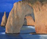 cliffs in Etretat