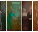 Protester Gangster,Nurse ,Undertaker, Painter Architect