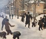 Snowball Fight - 19th Century
