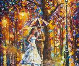 DREAM WEDDING — oil painting on canvas