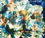 Ocean of Petals Abstract Flower Paintings