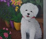 The Little Florist Dog