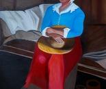 Acrylic on canvas, 80 by 60 cm