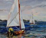 Acrylic on canvas, 70 by 50 cm