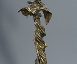 """""""Silk"""", (from the """"India"""" cycle) bronze, 70x27x20"""