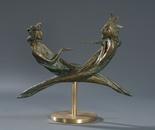 """""""Eternal Conversation"""", bronze, 16x29x11"""