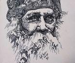 Rabindranath Tagore-portrait