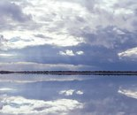 Inland Waters; Lake Lefroy Cloudscape