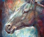 Twilight Shadow - Mottled Horses