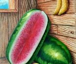 Fruits in a corner