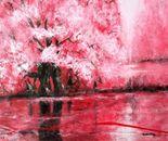 Cheery blossom trees