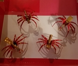 Collection of Red Door Lady Spiders