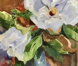 'Magnolia' by Cissy Marks 20.25x26.25 $1200 s