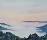 Dawn in Asheville