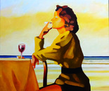Mademoiselle drinks red