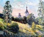 A church in the park