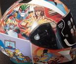 Custom anime helmet side 2