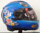 Sirens-themed custom helmet side 1