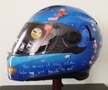 Sirens-themed custom helmet side 2