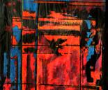 Effet de vitraux colorisés