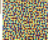 mostly random colored squares