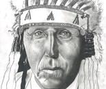 Chief Red Bird / Cheyenne. 1927