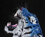 BLUE TIGER (Head), 2019