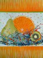 Fruits - Pear Orange