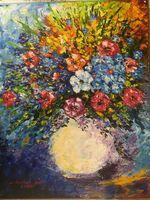 Bouquet in memoriam of Afremov