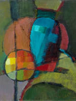 Abstracted Vase and Ball