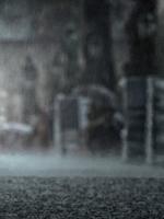 like a walk in the rain
