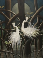 EGRETS IN MANGROVES