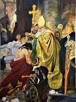 Baptizing of Vajk