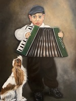 Boy and Accordion