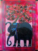 tree of life with 2 elephants
