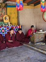 Four Monks in Waiting