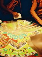 Mandala Sand Art Meditation Ceremony