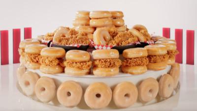 "KFC ""Fleur de Donuts"" - Trevor Shepard"