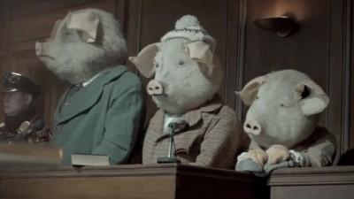 "THE GUARDIAN ""Three Little Pigs"" - Ringan Ledwidge"