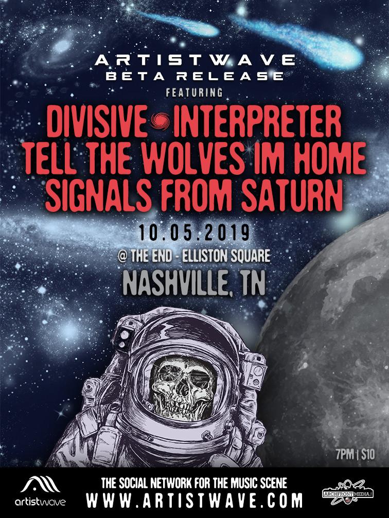 ArtistWave Beta Release Show - Nashville, TN