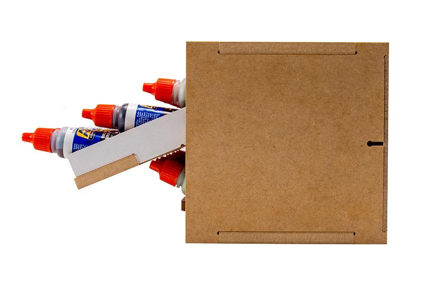 Slide&Tilting Drawer Paint Shelf OPERA-19A (For acrylic, enamel) Thumbnail Image 14